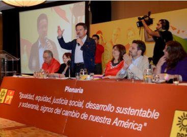 Se reencuentra izquierda de México y América Latina, a través del Foro de Sao Paulo