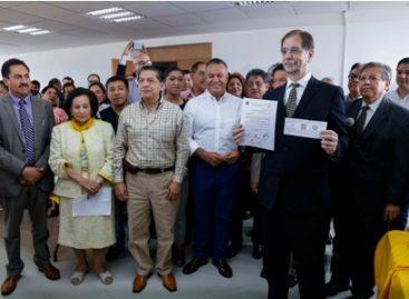 Reinicia PRD proceso de afiliación; Se afilia doctor Agustín Basave Benítez como militante