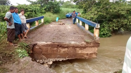 Registran intensas lluvias en la Cuenca