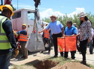 Instalan alumbrado público en Oaxaca de Juárez; Contribuye con seguridad de familias de Cinco Señores