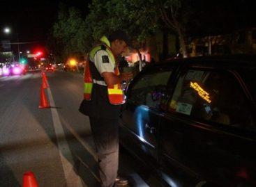 Sancionados este fin de semana 11 conductores durante operativo Alcoholímetro en Oaxaca