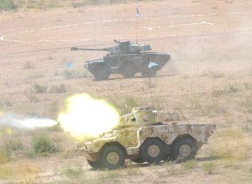 Realizan fuerzas armadas ejercicio con Fuego Real en el Centro Nacional de Adiestramiento