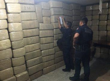 Asegura Policía Federal más de siete toneladas de marihuana en Sinaloa; Dos detenidos