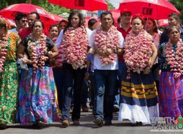 Yarith Tannos una diputada federal del PRI por Juchitán espuria
