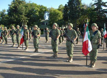 Ejército Mexicano celebra el LX Aniversario de la segunda Brigada de Infantería Independiente