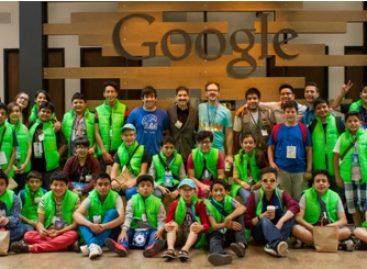 Participan niños mexicanos campeones en robótica en programa de verano en Silicon Valley