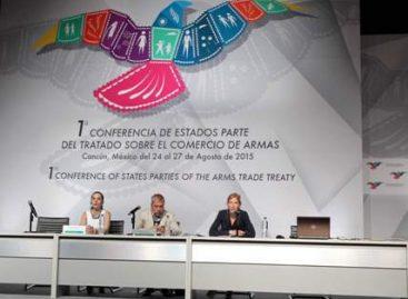 Elige Conferencia de los Estado Parte del Tratado sobre el Comercio de Armas a Ginebra como sede de su secretaría