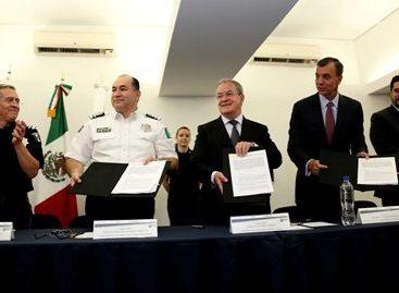 Firman Policía Federal y Profepa convenio de colaboración para proteger al medio ambiente