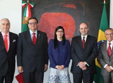 Reconoce México labor del embajador de Brasil, Marcos Leal Raposo