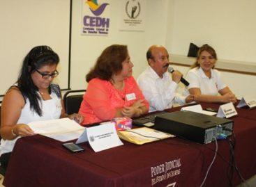 Imparte CNDH taller sobre migración y protección a periodistas y defensores
