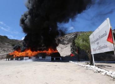 Destruye el Gabinete de Seguridad 138.7 toneladas de narcóticos