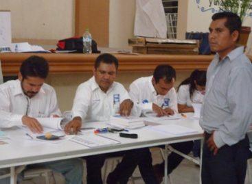 Realizan elección interna de Acción Nacional en Huajuapan de León, Oaxaca