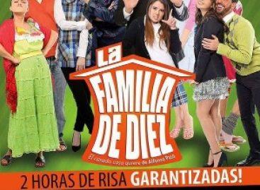 """""""Una Familia de Diez"""" se presentará en Oaxaca a beneficio de la Casa Hogar para Adultos Mayores"""