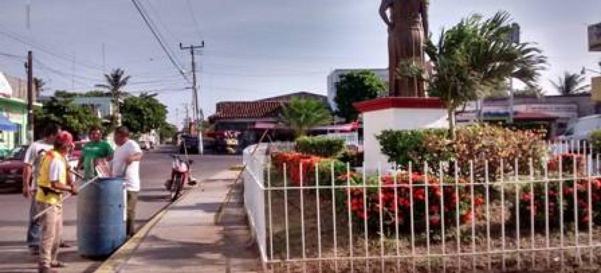 Con trabajos de limpieza preparan en Juchitán celebración del 5 de septiembre de 1866
