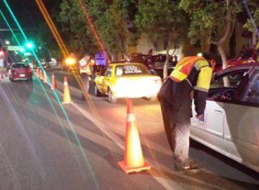 Positivas 24 de 37 pruebas de alcoholemia practicadas en operativo a conductores en Oaxaca