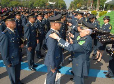Imponen grado de ascensos en la Secretaría de la Defensa Nacional