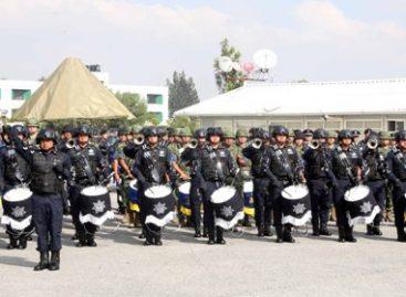 Gana 78 Batallón de Infantería de la Sedena Primer Concurso Nacional de Bandas de Guerra 2015