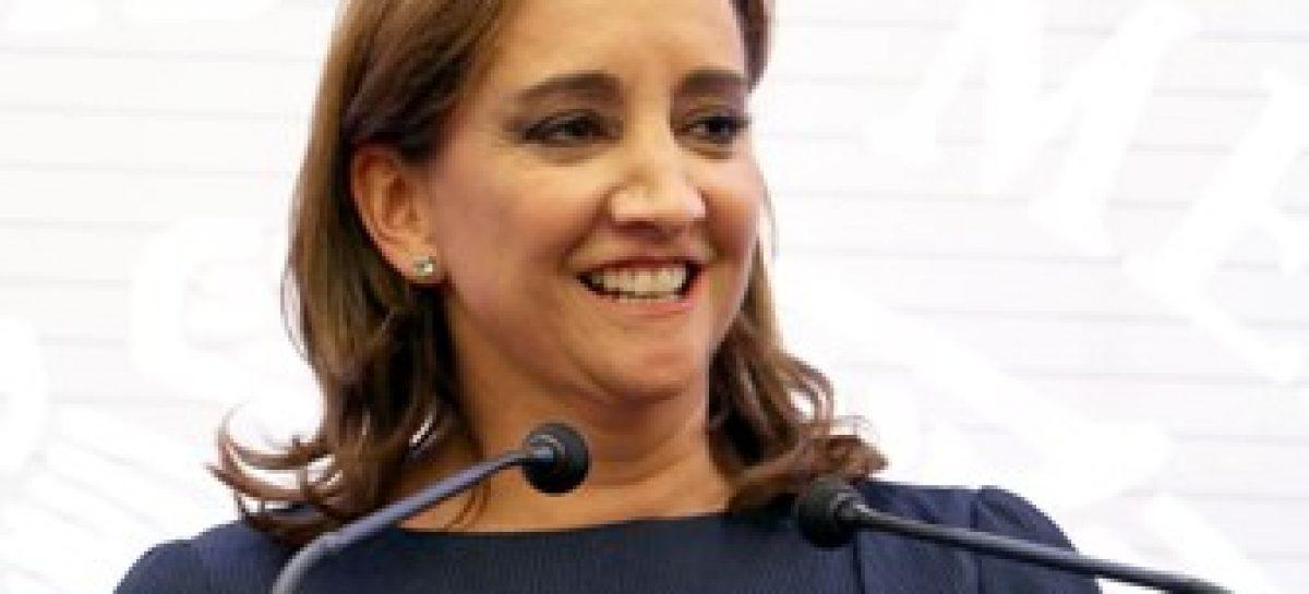 Participa canciller Claudia Ruiz Massieu en reunión de alto nivel sobre cambio climático