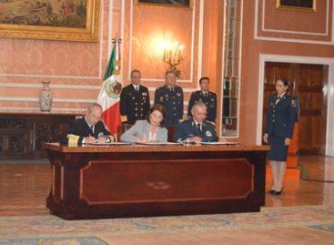 Firman Sedena, Semar y Profeco convenio para el fortalecimiento institucional y el desarrollo nacional