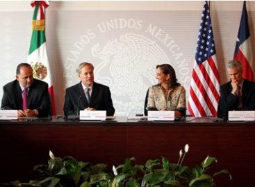 Abren México y Texas nuevo capítulo en su relación con anuncios y la firma de instrumentos de cooperación