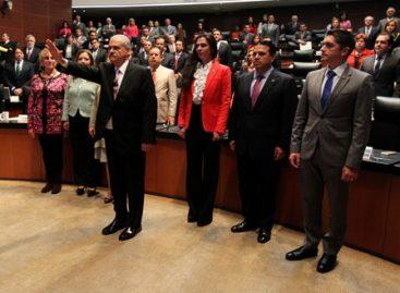 Rinde protesta Miguel Basáñez como embajador de México en Estados Unidos