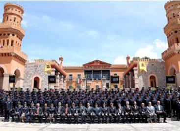 Egresan 101 elementos del curso de formación para aspirantes al Servicio de Protección Federal