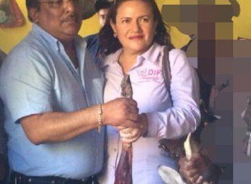 Apoyo a feminista amenazada por Pedro Ruiz edil de Tlacolula Oaxaca