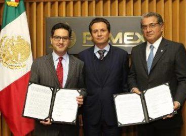 Firman Pemex y Cenagas contrato de transferencia de los activos del Sistema Nacional de Gasoductos
