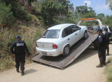 Operativos de seguridad municipales recuperan 43 vehículos robados, en 2015