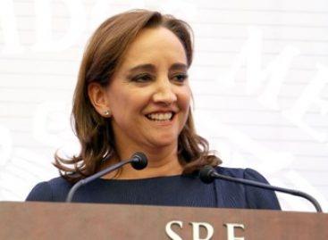 Realiza la canciller mexicana Claudia Ruiz Massieu visita oficial a Cuba