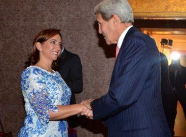 Analizan Ruiz Massieu y Kerry temas prioritarios de la agenda bilateral, trilateral y global