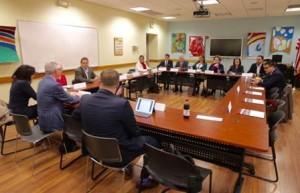 Sostuvo reuniones con líderes políticos y de opinión