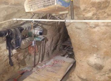 Descubre Policía Federal en Baja California un túnel para el envío de droga a Estados Unidos; 16 detenidos