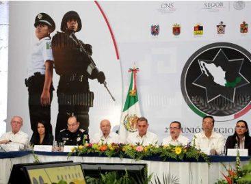 Sesiona en Oaxaca la Conferencia Nacional de Secretarios de Seguridad Pública Zona Sureste