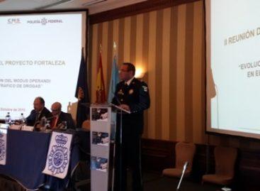 Representó la Policía Federal a México en la II Reunión del Proyecto Fortaleza–Interpol, en España