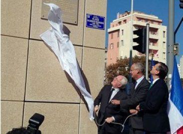 Inauguran la Plaza Gilberto Bosques en Marsella, Francia