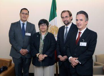 Da gobierno mexicano bienvenida al Alto Comisionado de las Naciones Unidas para los Derechos Humanos