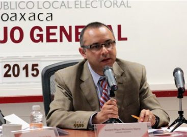 Inicia este 8 de octubre el proceso electoral ordinario 2015-2016 en Oaxaca