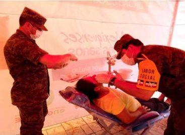 Beneficiados cerca de seis mil habitantes con labor social en cuatro municipios del Edomex