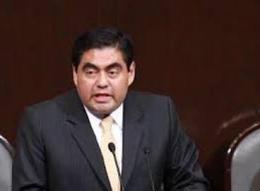 Pide Barbosa Huerta al Congreso actuar con responsabilidad en aprobación del Paquete Económico