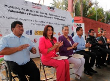 Celebran Tercera Expo de Personas con Discapacidad y Adultos Mayores en Oaxaca de Juárez