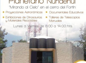 """Planetario """"Nundehui"""" de Oaxaca, oportunidad de aprendizaje para niños y adultos"""