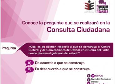 Contabilizadas 96.6% de las actas de la Consulta Ciudadana en Oaxaca