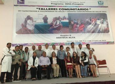 Clausura IMSS Talleres Comunitarios dirigidos a voluntarios rurales para disminuir muerte materna