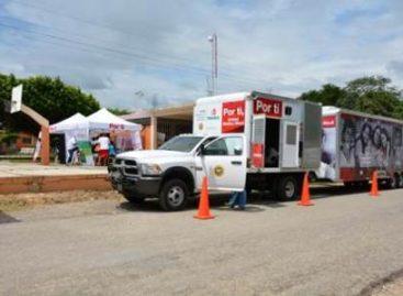 Ofrece Unidad Médica Móvil de Pemex consultas gratuitas en Matías Romero, Oaxaca