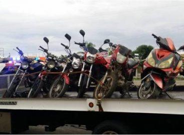 Aseguran seis motocicletas por diversas irregularidades en la Costa de Oaxaca