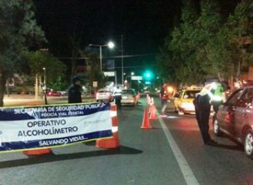 "Mantiene SSPO operativo ""Por un Oaxaca libre de accidentes"", 15 arrestados en Alcoholímetro"