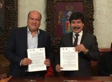 Ratifican Arequipa, Perú, y Oaxaca de Juárez, Oaxaca, México, acuerdo de hermanamiento