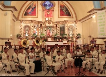 Ofrecerán conciertos niños y jóvenes músicos de Zacatepec Mixe en la capital oaxaqueña