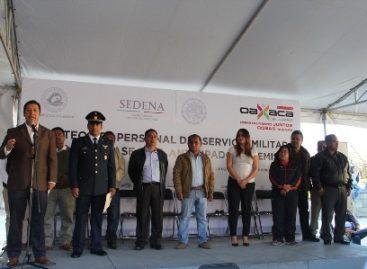 Participan más de mil jóvenes oaxaqueños en el Sorteo del Servicio Militar Clase 1997